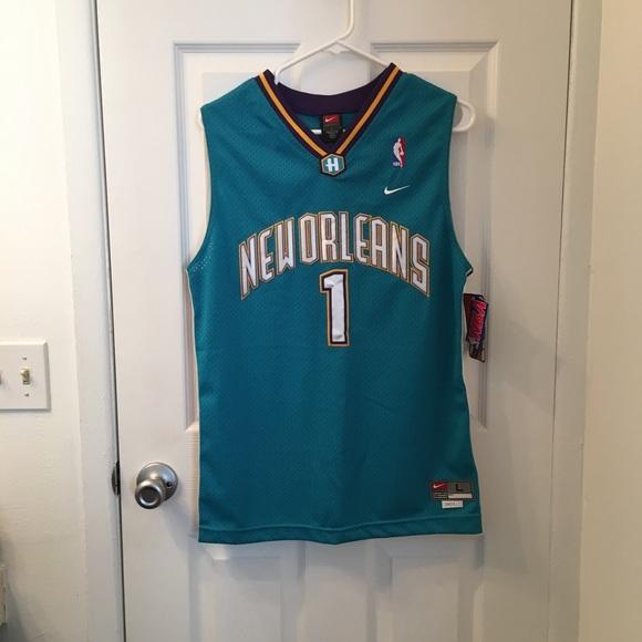 New Orleans Hornets Baron Davis kids jersey 5d8ba7799
